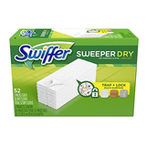 Swiffer Sweeper Dry Sweeping Pad, Multi Surface Refills 52 Count