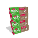 Hello Oral Care Fluoride Free Toothpaste for Kids 3 Months+ 4ct