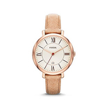 Fossil Women's ES3487 Jacqueline Three Hand Leather Watch