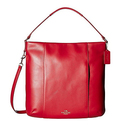 COACH Women's Leather Isabelle Shoulder Bag - Classic Red
