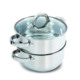 Oster Hali Stainless Steel Steamer Set with Lid