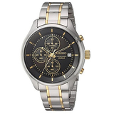 Seiko Men's Amazon Exclusive Quartz Stainless Steel Casual Watch