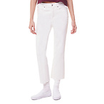 Side Stripe Flare Crop Jean