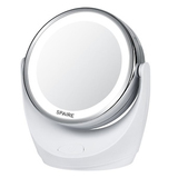 Spaire Makeup Mirror 5X/1X Magnification LED Mirror