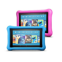Fire 7 Kids Edition Tablet Variety Pack, 16GB (Blue/Pink) Kid-Proof Case