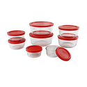 Pyrex 1126079 16 Piece Simply Store Nesting Storage Set