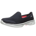 Skechers Performance Women's Go Walk 4 Propel Walking Shoe,Navy/White,6.5 M US
