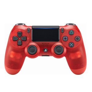 Sony - DualShock 4 Wireless Controller for PlayStation 4 - Red Crystal