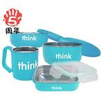 Thinkbaby 不锈钢餐具4件套