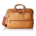 Samsonite Vachetta Leather 2 Pocket Business Case Tan