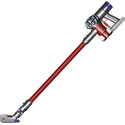 Dyson V6 Absolute Bagless Cordless Stick Vacuum - Nickel/Red