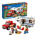 Lego city great vehicles pickup caravan 60182 building kit 344 piece - Lego brick caravan a record built piece by piece ...
