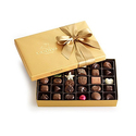 Godiva Chocolatier Gold Ballotin, Classic Gold Ribbon, Great for Easter Basket Gifts, 36 Piece
