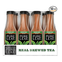 Pure Leaf Unsweetened Iced Tea 18.5 Ounce - Pack of 12