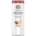 Starbucks 冰搖沁爽系列饮料-草莓柠檬椰子水-12罐
