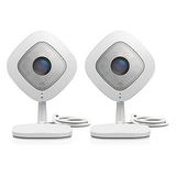 Arlo Q 1080p HD Security Camera with Audio & 7 Days of FREE Cloud Recordings--2 Pack (VMC3240)