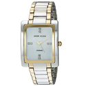 Anne Klein Women's AK/2789MPTT Swarovski Crystal Accented Two-Tone Bracelet Watch