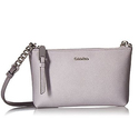 Calvin Klein Hayden Saffiano Leather Crossbody, Dusty Lilac