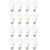 AmazonBasics 60 Watt Equivalent, Daylight, Non-Dimmable, A19 LED Light Bulb | 16-Pack