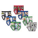 Disney Little Boys' Mickey 7 Pack Brief - 4T