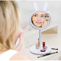 Excelvan Vanity Makeup Mirror with Light and Storage Table Lamp
