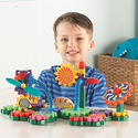 Learning Resources Gears! Gears! Gears! Gizmos Building Set, 83 Pieces