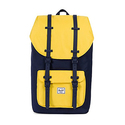 Herschel Supply Co. Little America Backpack, Peacoat/Cyber Yellow/Peacoat Rubber