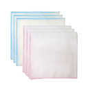 Sweet Layette Baby Muslin Washcloths 6pk