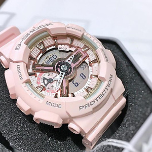 Casio G-Shock Digital Dial Pink Resin Ladies Watch