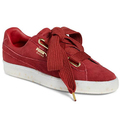 PUMA Suede Heart Sneaker-Red