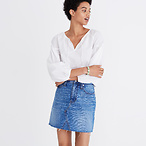 Denim Frisco Mini Skirt