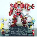 LEGO 乐高 超级英雄系列 76104 钢铁侠反浩克装甲
