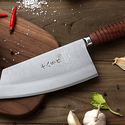 Superior Class 7-inch Stainless Steel Chinese Cleaver Kitchen Knife