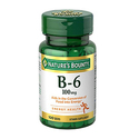 Nature's Bounty Vitamin B-6 100 mg - 100 Tablets