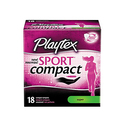 Playtex Sport Super Absorbency Compact Tampons 18ct
