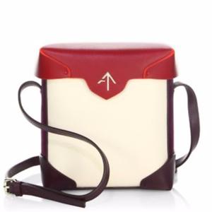 MANU Atelier Micro Pristine Suede Box Bag