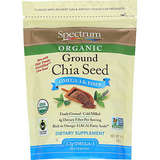 Spectrum Essentials Organic Ground Chia Seeds, 10 Ounce