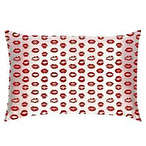 Silk Pillowcase - Limited Edition Red Kisses