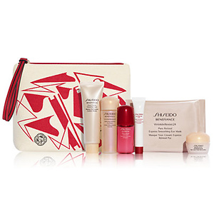 Macys: Free 7-pc Beauty Set with $75 Shiseido Purchase