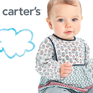 Carter's: Up to 50% OFF Select Baby Items + Extra 20% OFF $50