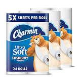 Charmin 超大卷柔软厕纸24卷