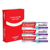 Colgate Sensitive Prevent and Repair Sensitive Toothpaste, 6 Ounce, 3 Count