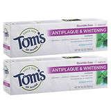 Tom's of Maine Antiplaque and Whitening Fluoride-Free Toothpaste 5.5 oz.