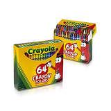 Crayola 绘儿乐装蜡笔 64支*2盒