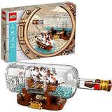 LEGO IDEAS 典藏瓶中船 21313 拼装积木玩具