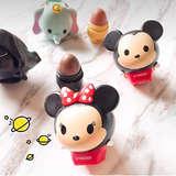 Lip Smacker Disney Tsum Tsum Lip Balm Duo, Marshmallow Pop and Strawberry Lollipop, 2 Count