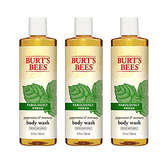 Burt's Bees Peppermint and Rosemary Body Wash Pack of 3
