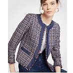 Tweed Chambray Jacket