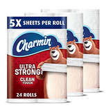 Charmin Ultra Strong Toilet Paper Family Mega Roll 24ct
