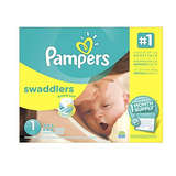 Pampers Swaddlers 1号纸尿裤222片